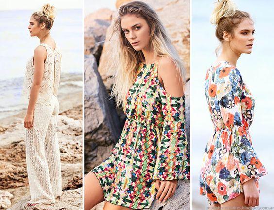 Moda y Tendencias en Buenos Aires  MODA PRIMAVERA VERANO 2016 LOOKS NATURAL CHIC BY