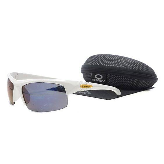 discount oakley holbrook sunglasses mop2  $1399 Discount Oakley Flak Jacket Sunglasses Blue Lens White Frames Us Outlet  Deals wwwracal