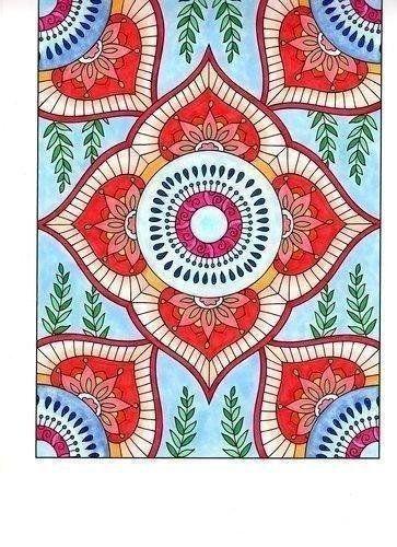 Amazon.com: BellaBella by the sea ~~~'s review of Dover Creative Haven Mehndi Designs Colori...