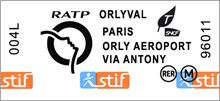 Orlyval Bus to Antony Station: