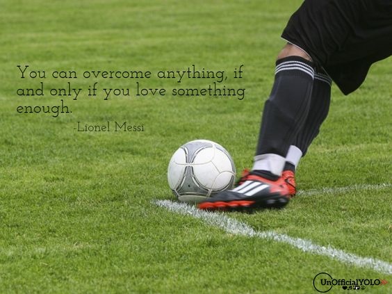 Lionel Messi-unofficialYOLO-Inspiring Quote