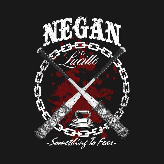 NEGAN u0026 LUCILLE by 126pixels : Shirts, Black and Design