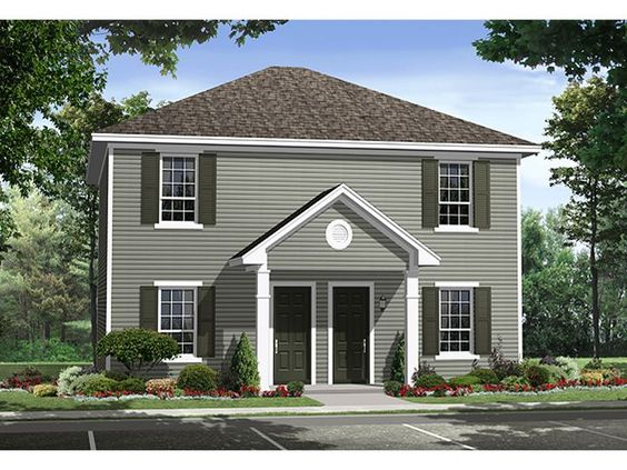 Duplex Floor Plans  amp  Duplex House Plans   The House Plan Shop    Duplex Floor Plans  amp  Duplex House Plans   The House Plan Shop