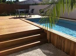 am nager une piscine enterr e et un bassin hors sol n 39 est pas tout fait quivalent pour une. Black Bedroom Furniture Sets. Home Design Ideas