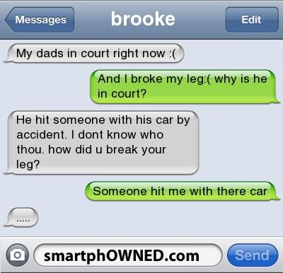court - Other - Nov 10, 2011 - Autocorrect Fails and Funny Text Messages - SmartphOWNED #iphone #fail #autocorrect: