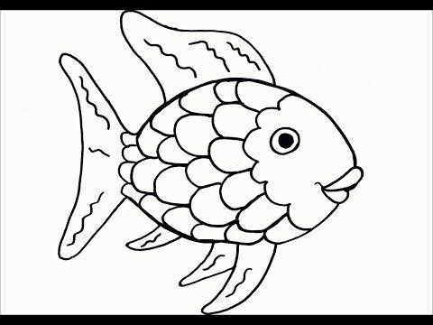 Fish Coloring Balik Boyama Youtube Kagit Cicek Balik Okul