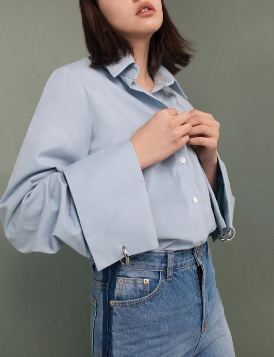 Spring style trends SS17 | Exaggerated sleeves | Pixie Market shirt