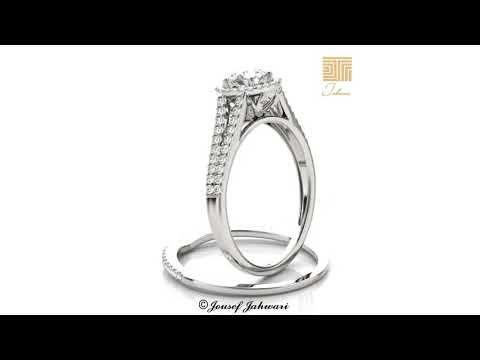 اجمل دبلة خطوبة الماس 2019 توينز الماس ذهب ابيض Youtube Engagement Rings Engagement Jewelry