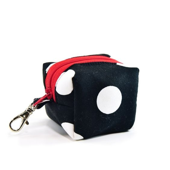 """NEW! EOS Lip Balm Holder, Small Coin Pouch * Handmade in the USA * Materials: Cotton, swivel clasp, Interfacing, Canvas, Zipper,  * Securely sewn in whole product * Pouch measures approximately 2 3/4"""" X 2 3/4"""" X 2 1/4"""" (6.5cm×6.5cmX5.5cm) (Body only)  * T"""