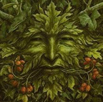 Greenman by Brian Froud