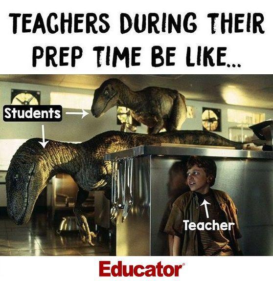 Teachers During Their Prep Time Educator Teachers Teacher Jokes Bored Teachers Teacher Memes Funny