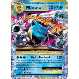 Pokemon TCG XY Evolutions Ultra Rare 22/108 Mega Blastoise EX Singles Unplayed NM