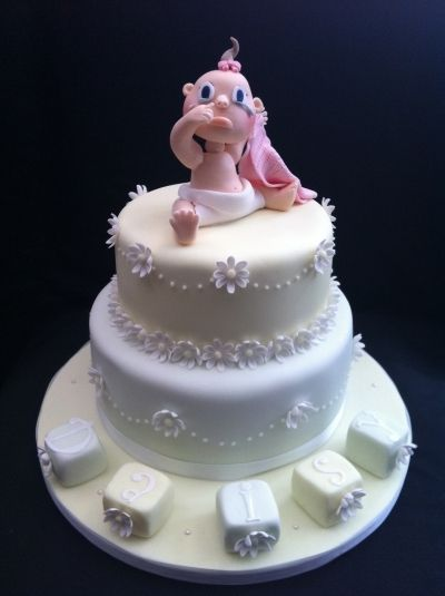 Baby Daisy By chocomoo on CakeCentral.com