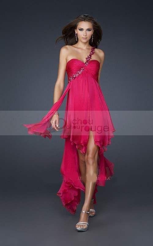 Quelle Zgulvqmsp Robes Une Robe Soirée Avec De – Rose Fushia Chaussure I7bgyYfv6