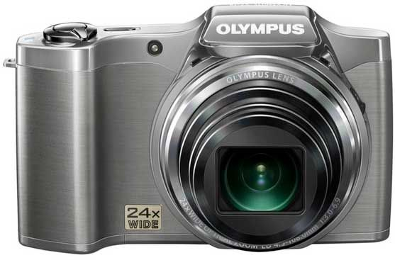 The Olympus SZ-14 digital camera. Traveler-friendly.