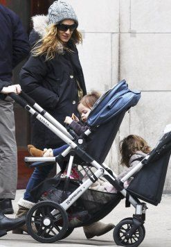 Sarah Jessica Parker Double Strollers Uppababy Vista