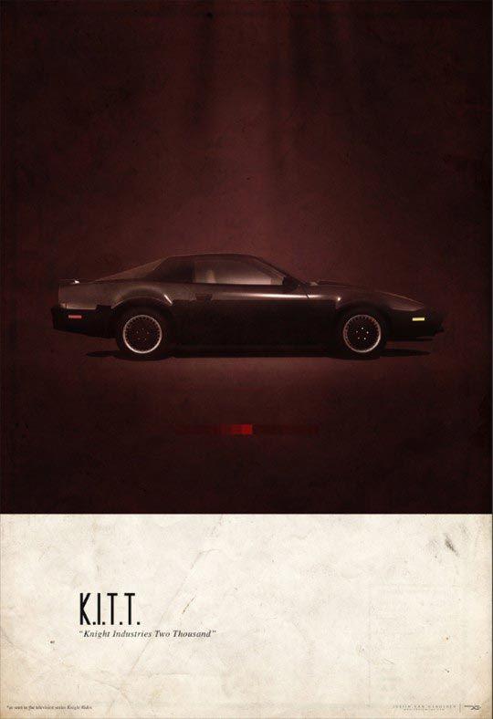 Justin Van Genderen, KITT, Cars, 2046design ©