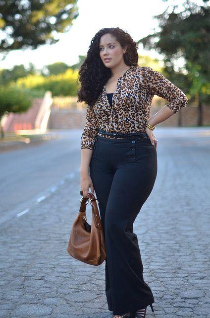 Tanesha Awasthi... leopard print.