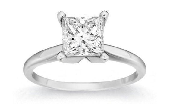 Princess cut, Princess cut diamonds and Princesses on ...