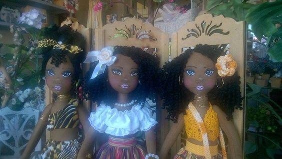 Bonecas de pano negra  Soraia Flores