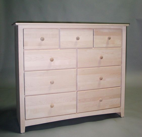 Arvo Dresser With 6 Drawers Miniatures Modern Earthy Cabin
