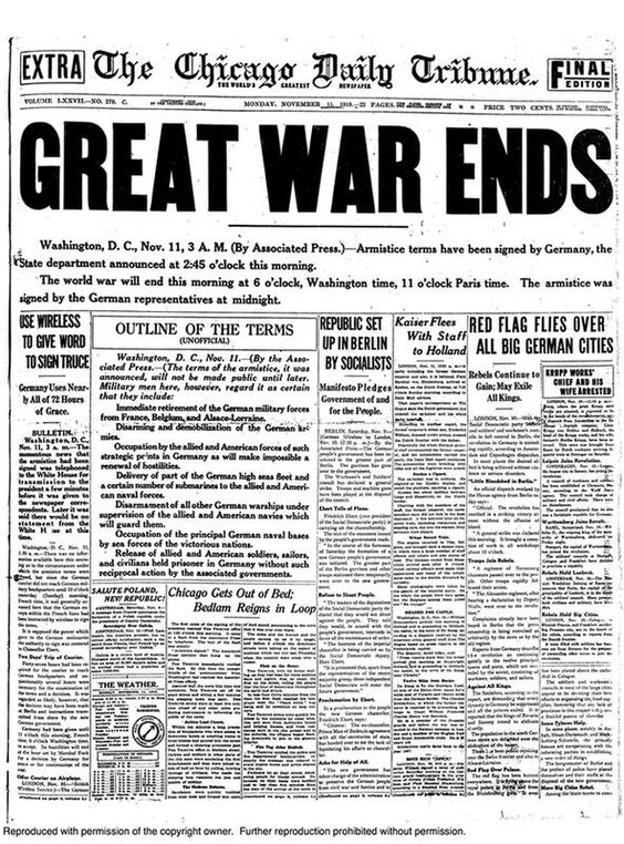 25 Newspaper Headlines From the Past That Shaped History   History Daily