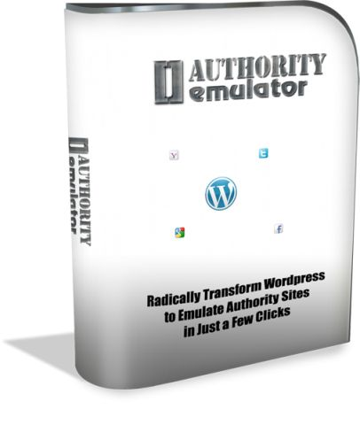 Authority Emulator  Wordpress Plugin... $11 http://pin.st/1ae