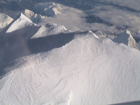 25,000 ft. above Mt. McKinley