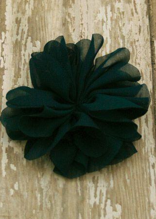 Folded Petal Fabric Flower (More Colors!)