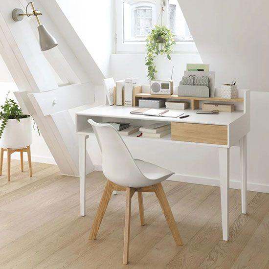 Bureau Avec Rangement 8 Modeles Pour Un Espace De Travail Optimal Mobilier De Salon Maison Rangement Bureau