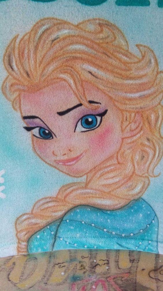 Camiseta con diseño de Frozen