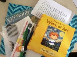 """YOU ARE MY WORK OF ART"" – LOVE BOOKS SUMMER EXCHANGE Activity Ideas that are Art Themed!"