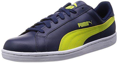 Basket Classic Strap Citi, Sneakers Basses Mixte Adulte, Blanc White-Vintage Khaki 01, 44.5 EUPuma