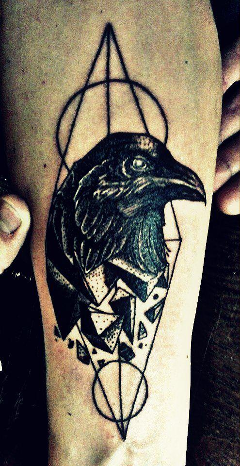 Raven Tattoo Designs Pinterest