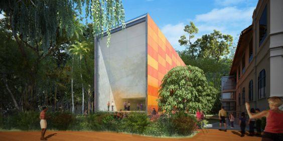 Concurso – Museu do Meio Ambiente – RJ – 1º lugar | concursosdeprojeto.org