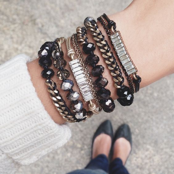 Arm yourself in style with our brand-new Bead + Chain Multi-Wrap Bracelet! www.chloeandisabel.com/boutique/rachaeldcarter