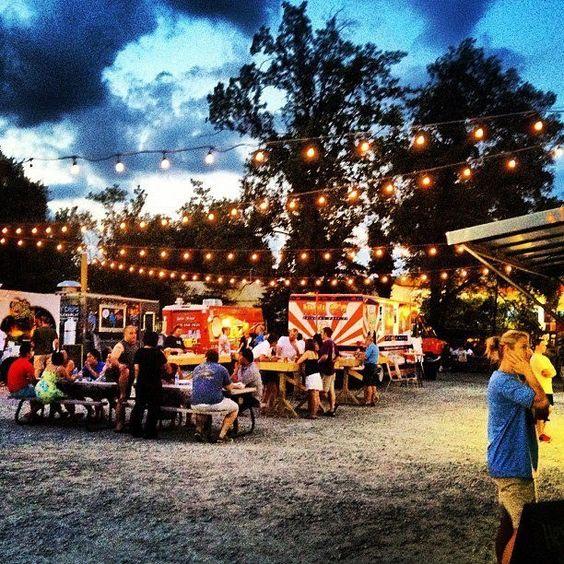 Eat at the Atlanta Food Truck Park & Festival | 15 Things To Do In Atlanta During Winter Break