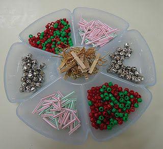 Montessori Christmas activities: