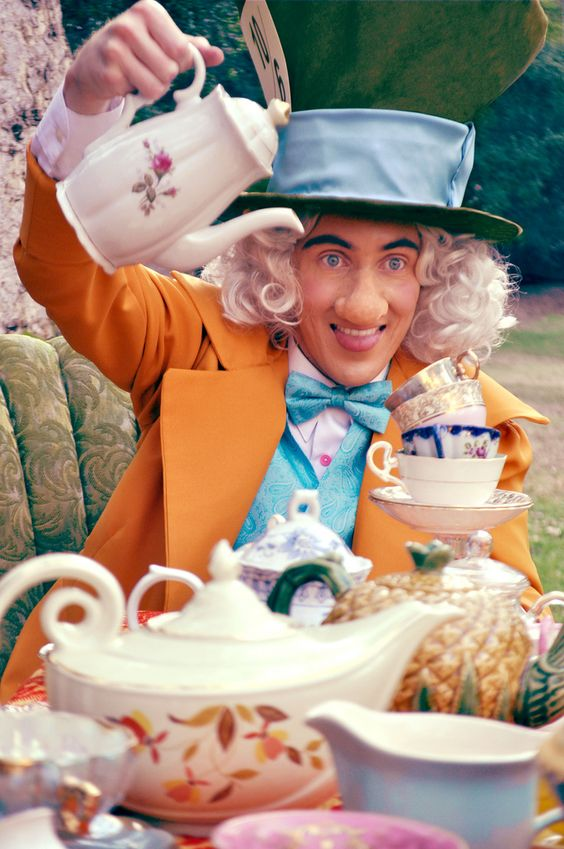 The Mad Hatter from Alice in Wonderland.