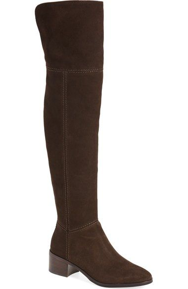 COACH 'Lucia' Cuffable Over The Knee Boot (Women). #coach #shoes #boots