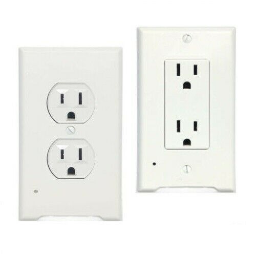 Https Ift Tt 37ogn7e Plates Ideas Of Plates Plates 5 10pc Outlet Wall Plate Led Night Lights Cover In 2020 Night Light Cover Led Night Light Plates On Wall