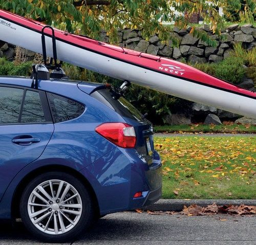 A Suction Cup Tool For Helping You Lift Your Watercraft Up On Your Roof Rack Kayak Roof Rack Kayaking Kayak Rack For Car