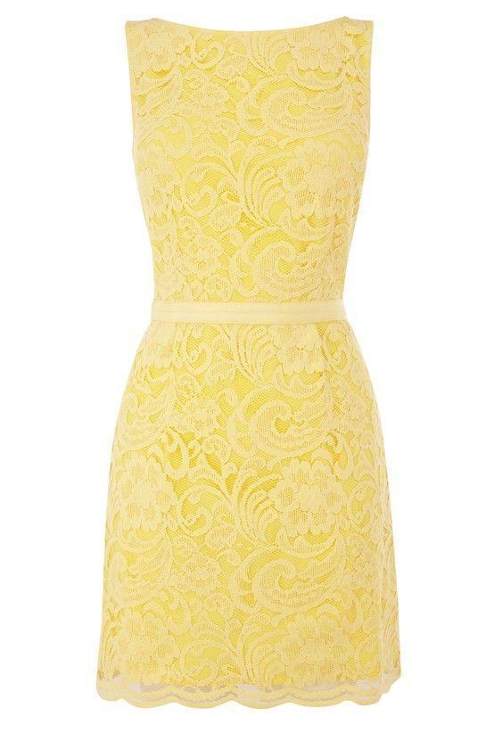 Yellow Lace Dress Yellow Lace Dress Yellow Lace Dress