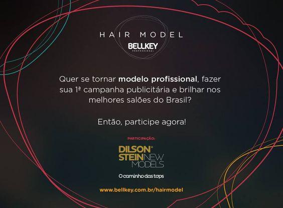 HAIR MODEL – BELLKEY    por Carolina, Juliana | Referência fashion       - http://modatrade.com.br/hair-model-a-bellkey