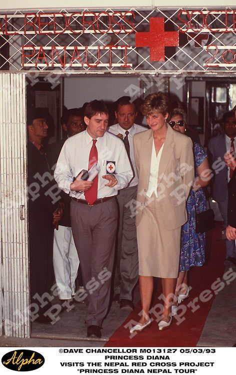"""princess diana in nepal 
