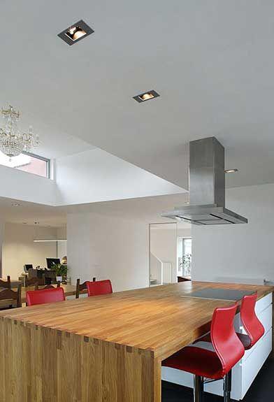 Modular slide in de keuken led lighting pinterest - Modular lighting paris ...