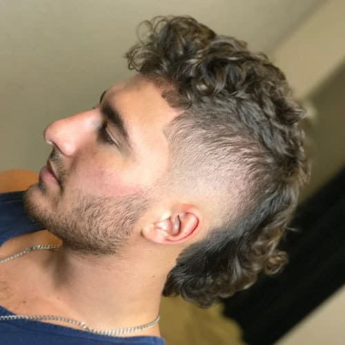 12 Modern Permed Mullet Hairstyles For 2019 Cool Men S Hair Mullet Hairstyle Mullet Haircut Curly Hair Men