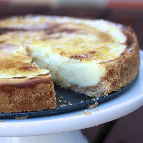 Creme Brulee Cheesecake -- craving!