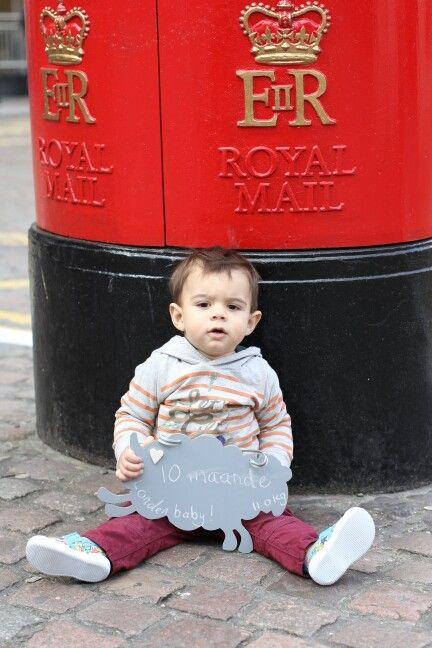 Baby boy 10 month photo