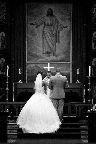 Wedding photography by Katie F